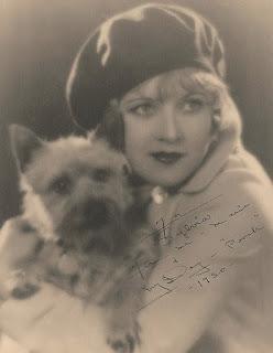 Marie Prevost & Her Dog