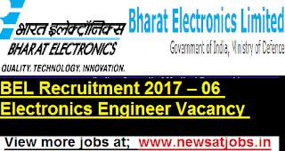 BEL-Recruitment-2017-06-Electronics-Engineer