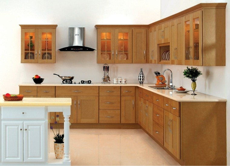 Modern Kitchen Remodel Pictures With Oak Cabinets Ideas