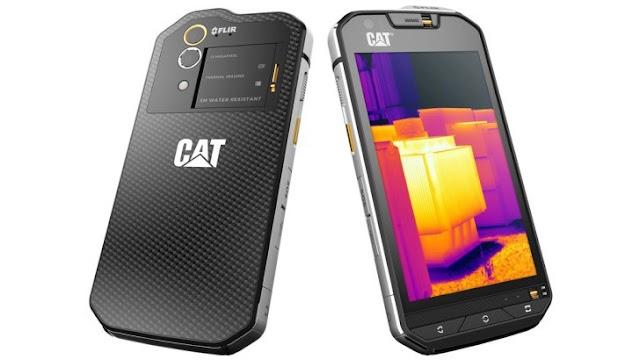 شركة كات تطرح أول هاتف بكاميرا حرارية Cat S60