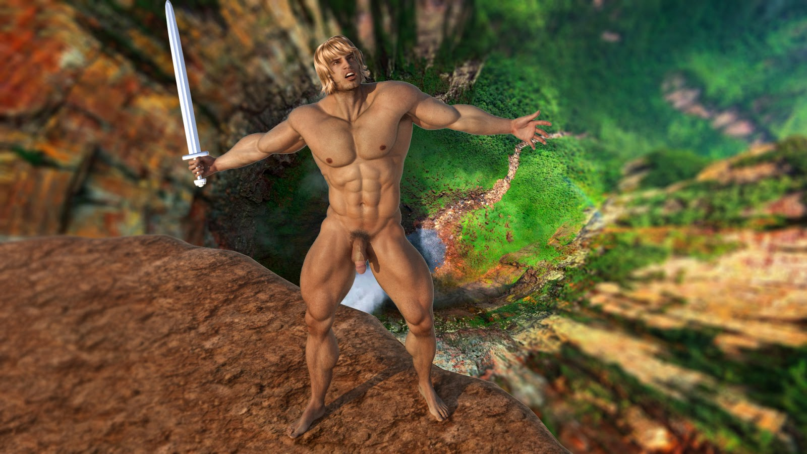 Naked Heros 38