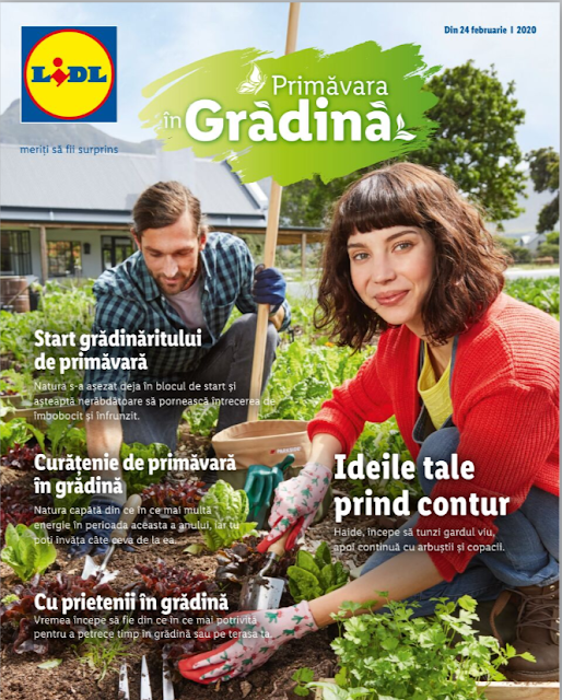 LIDL catalog brosura GRADINA