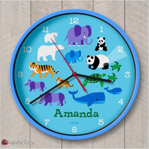 Wall Clocks For Kids Rooms 10