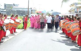 Kapolres Tanjabtim Beserta Ketua Bhayangkari Cabang Polres Tanjabtim,Laksanakan Kunjungan Kerja Silaturahmi KePolsek Jajaran Polres Tanjabtim