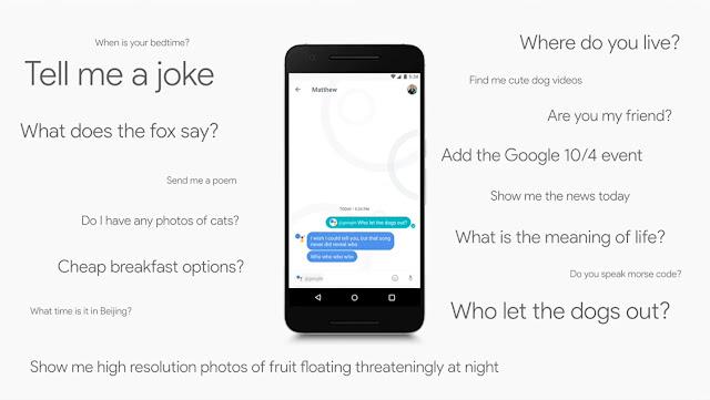 google assistant allo trickdump