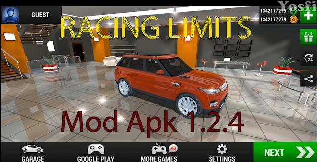 لعبة السيارات الرائعة Racing Limits Mod Apk 1.2.4 للأندرويد