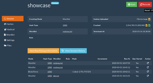 CrackerJack – Web GUI for Hashcat