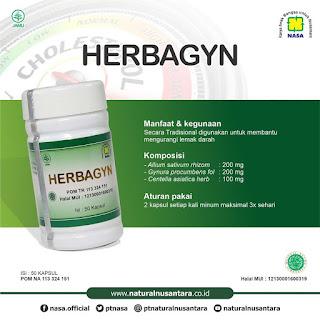produk nasa kolesterol herbagyn
