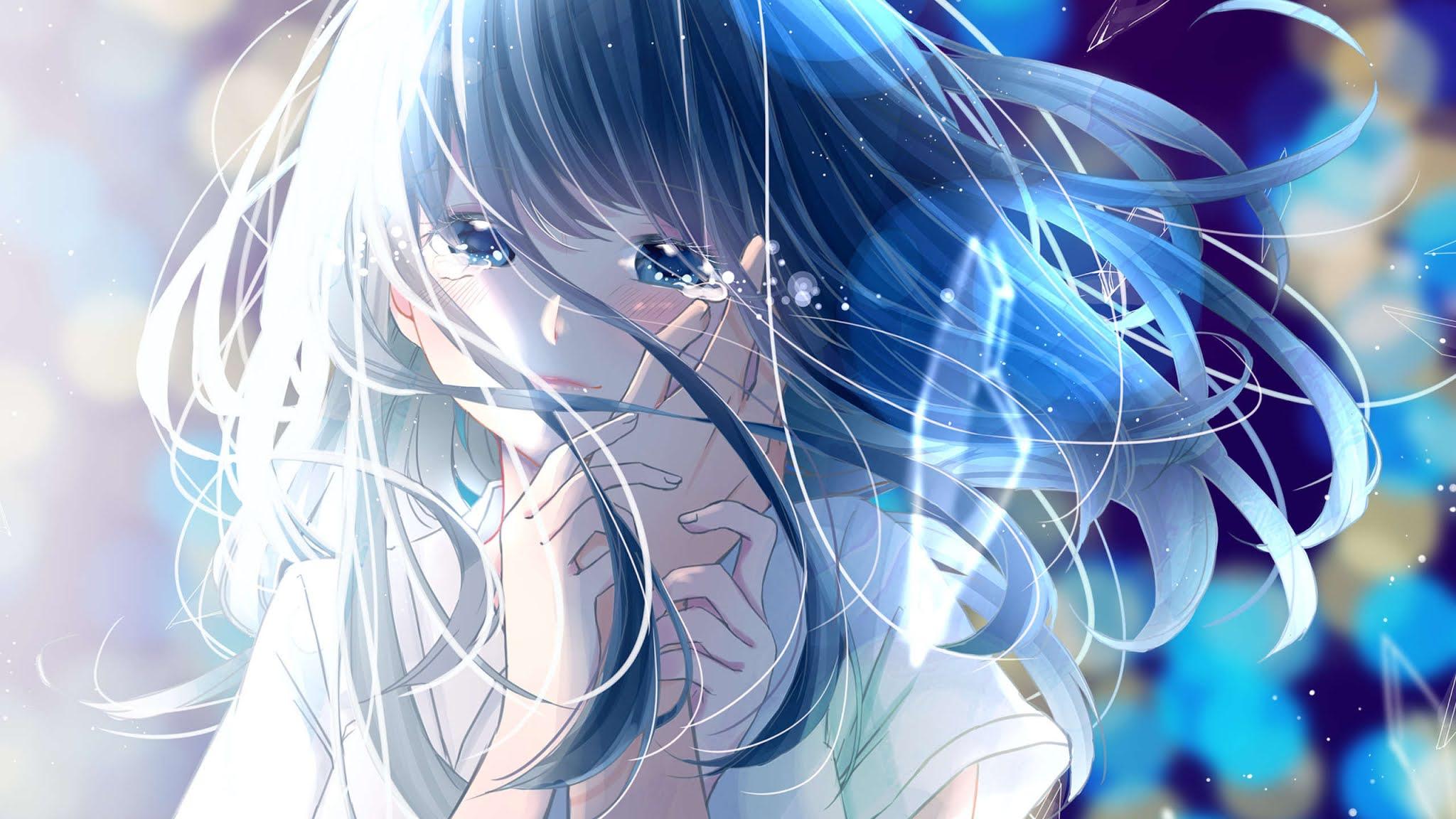 Anime mengangis wallpaper pc