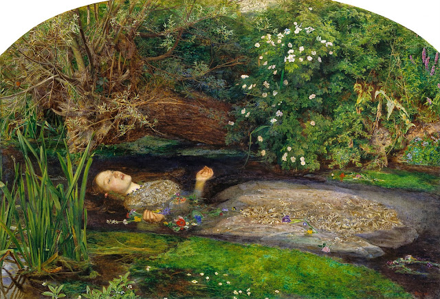 Ophelia, 1852 by John Everett Millais