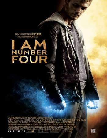 I Am Number Four 2011 Hindi Dual Audio BluRay Full Movie Download