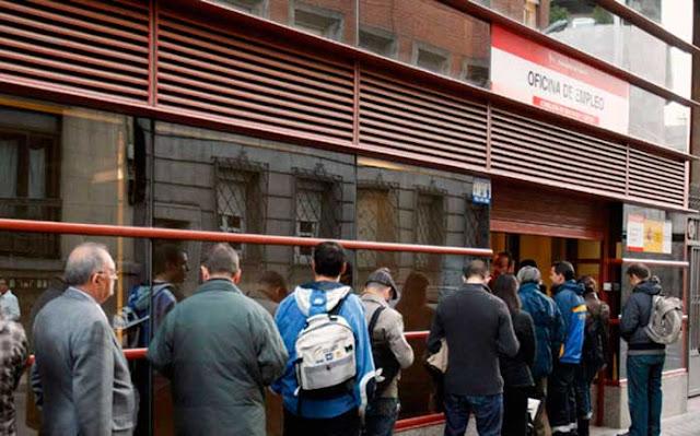 El paro aumentó en octubre 2.30 personas en Canarias, comparado con el mes anterior