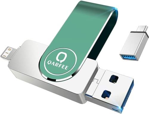 Review QARFEE Flash Drive Compatible iPhone