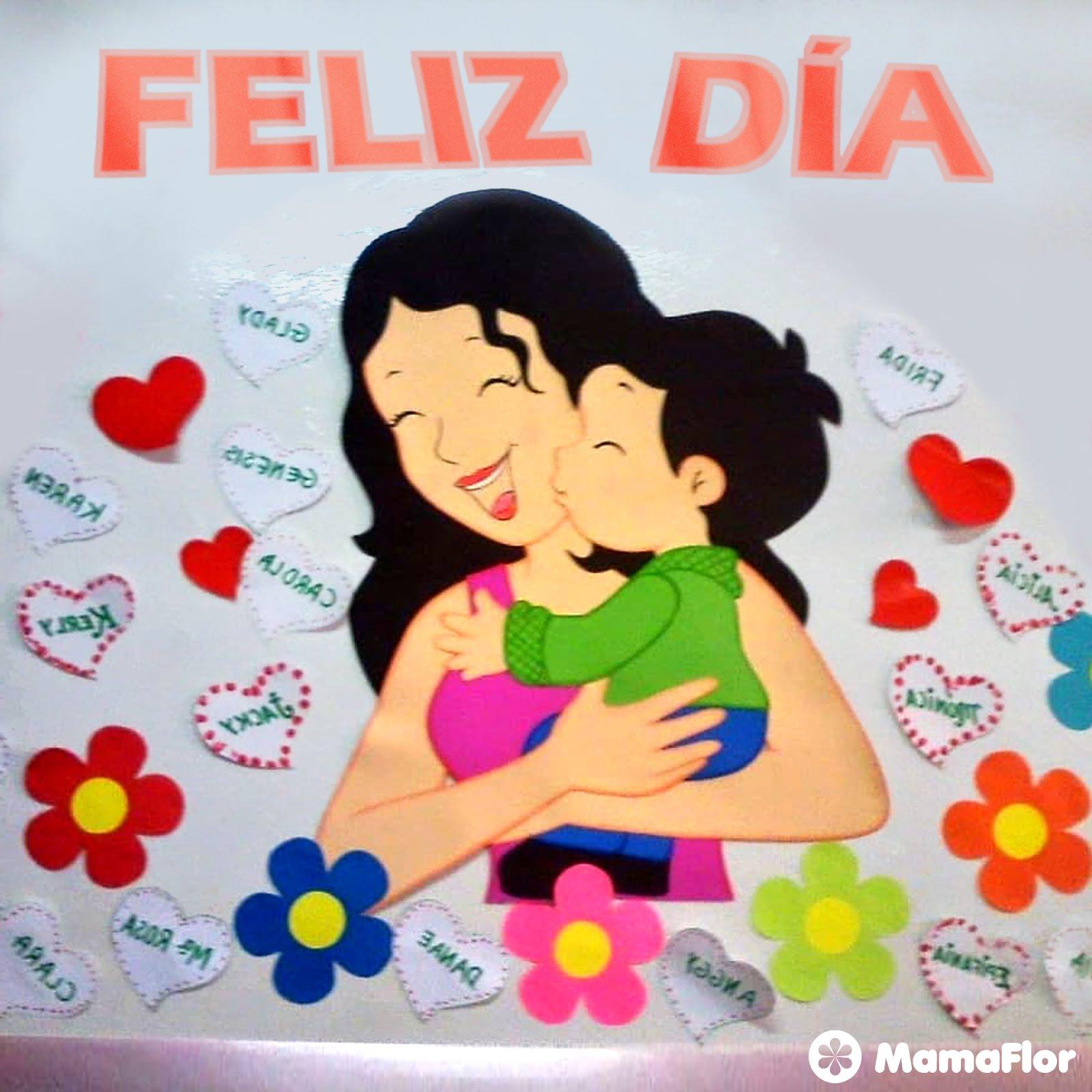 Murales Para El Dia De La Madre Increibles Y Faciles Manualidades
