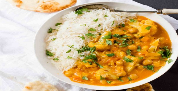 Chickpea And Cauliflower Curry Recipe