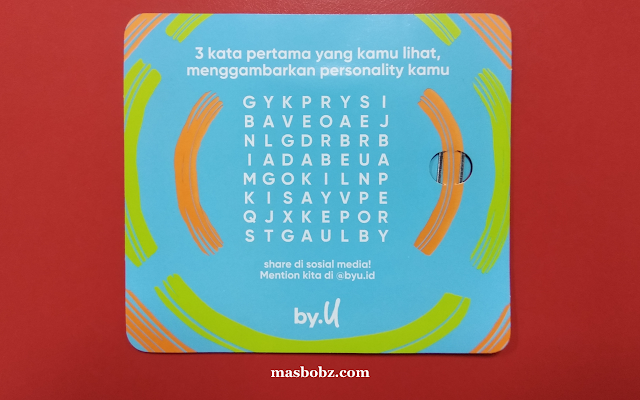 Mini word games by U Telkomsel