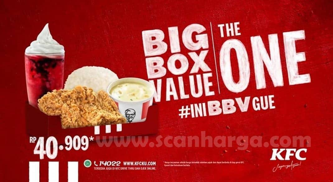 KFC Promo Big Box Value The One Periode 6 - 12 Juli 2020