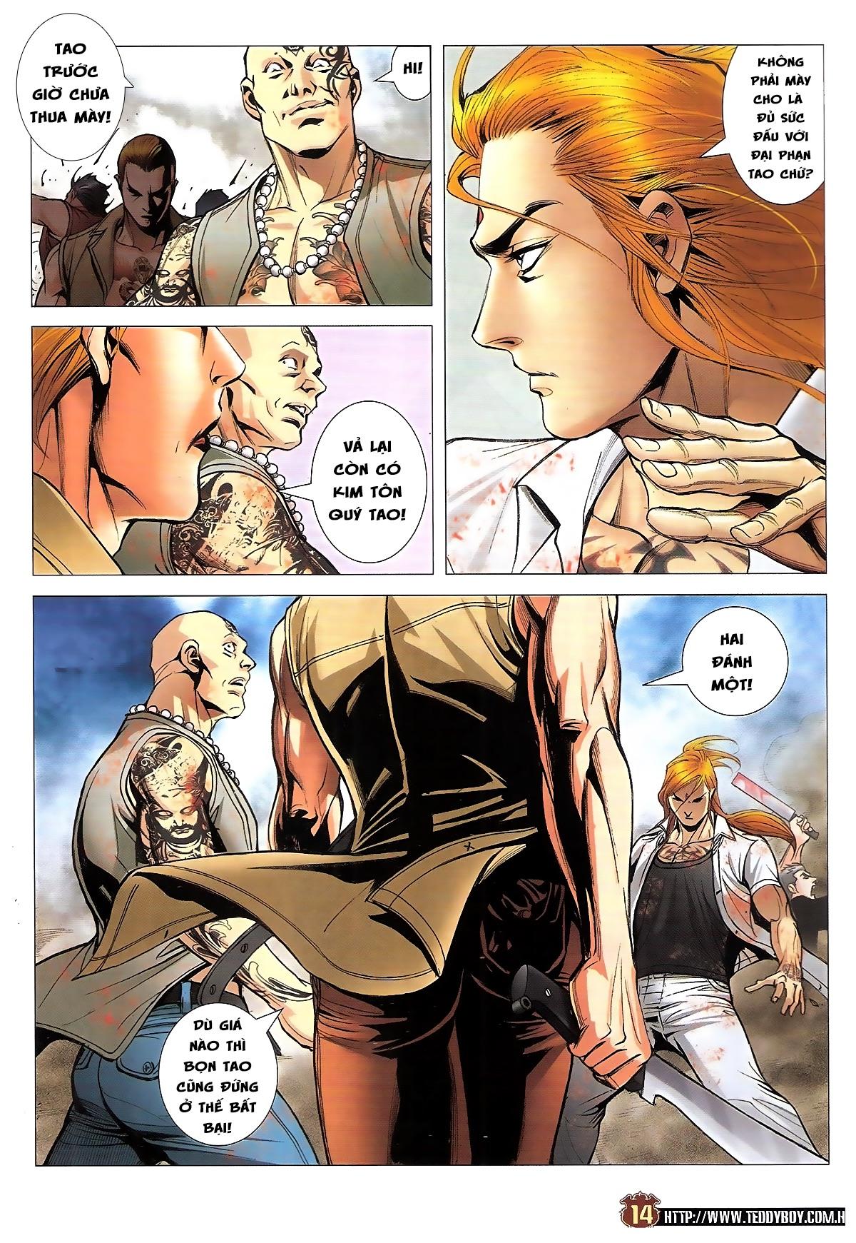 Người Trong Giang Hồ chapter 1834: kim mông không vs kim mông không trang 11