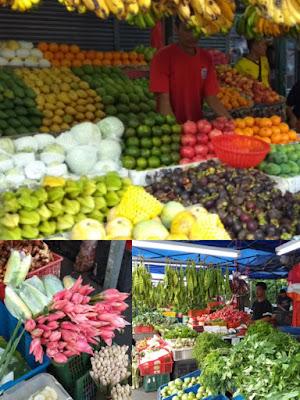 Lokasi Pasar Ramadan Kampung Baru Ini Ada di Jalan Raja Alang, tidak jauh dari sana juga ada pasar tradisional.