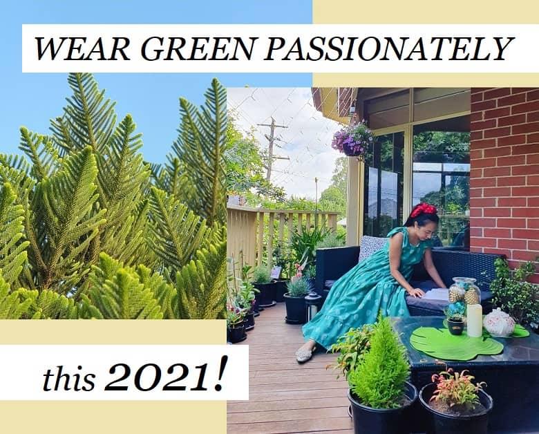 wear green