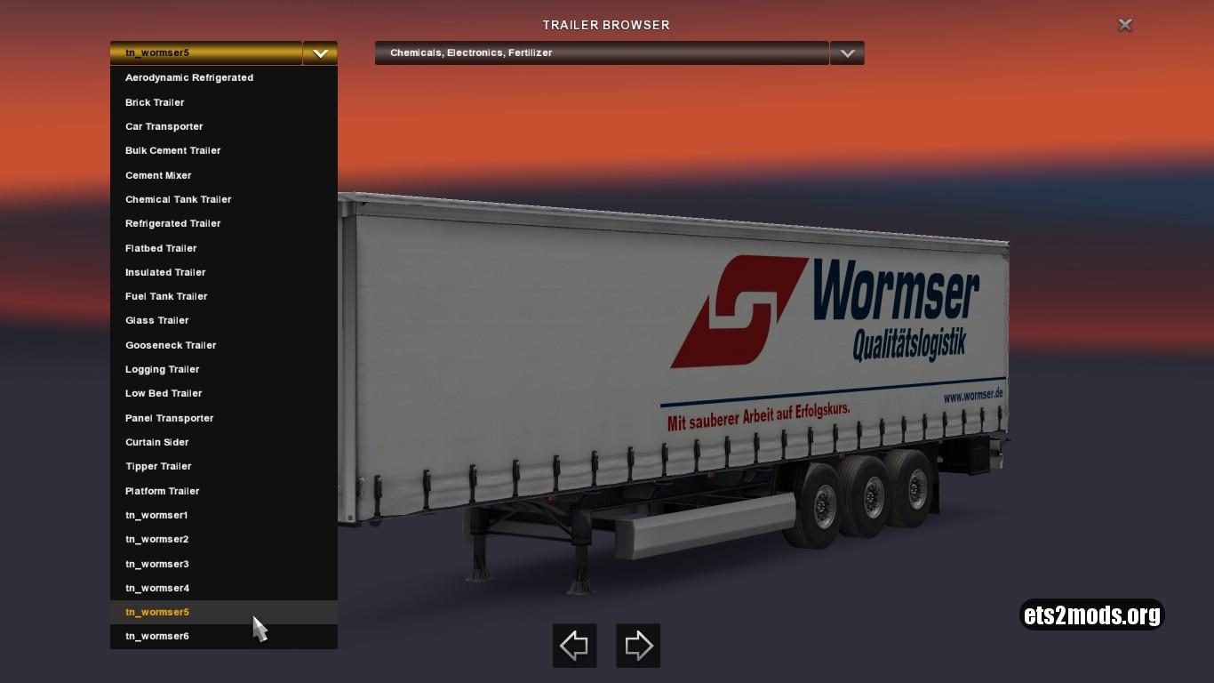 Wormser Trailers Pack