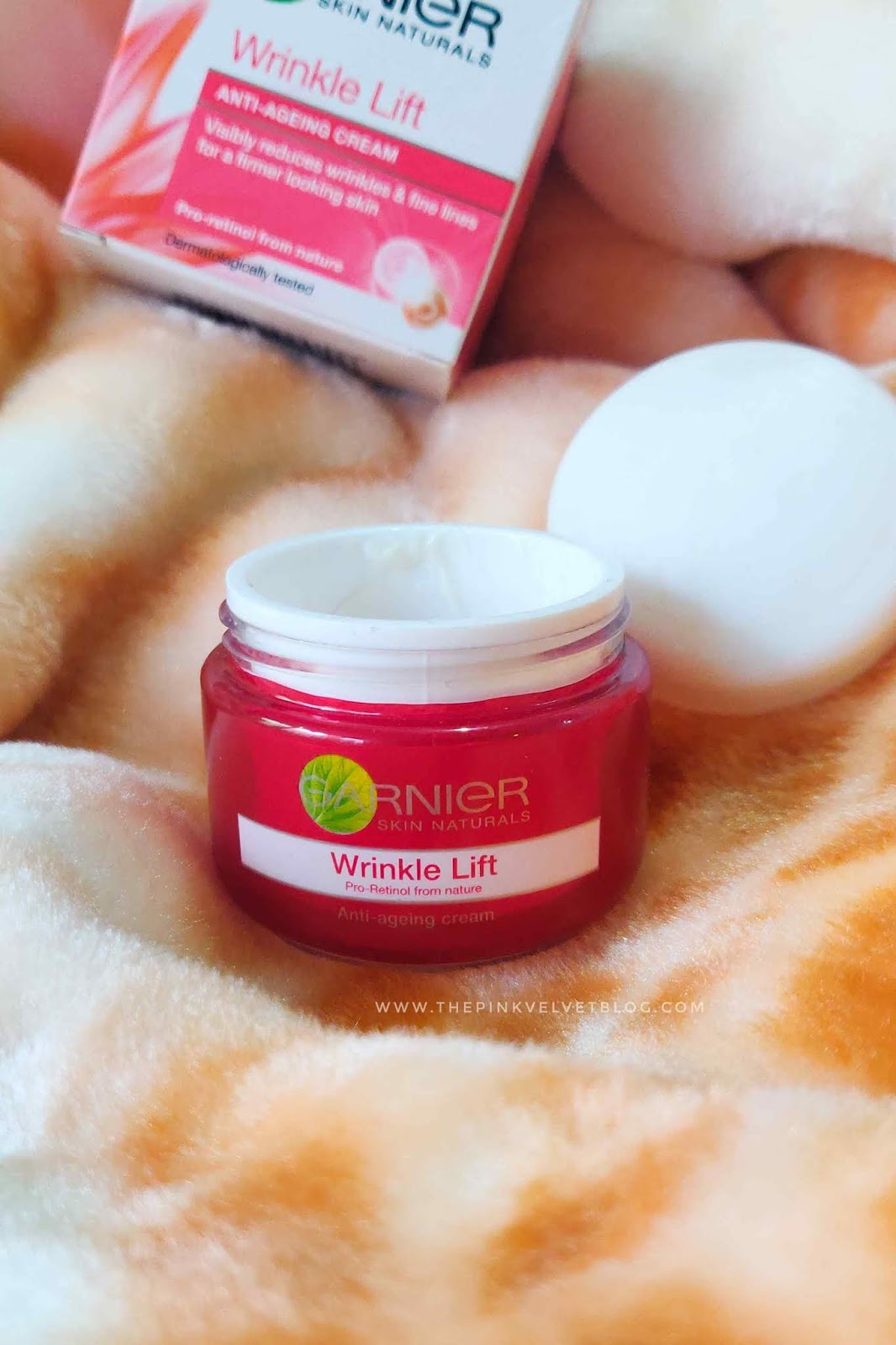 Garnier Wrinkle-Lift Anti-Ageing Cream - Review