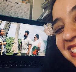 Attending my friends' wedding on Zoom