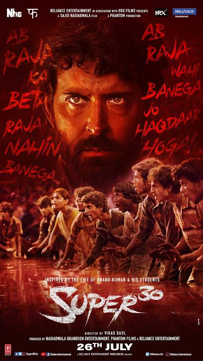 Super 30 HD Full Movie Download By TamilRockers I Super 30 Full HD Movie Download