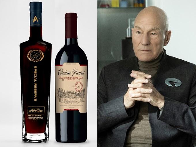 El primero de los vinos Star Trek es el Chateau Picard