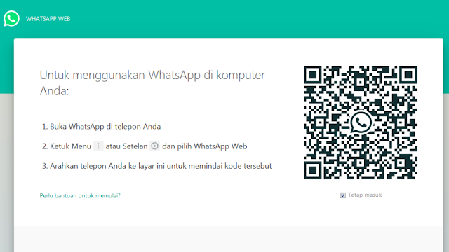 fitur keamanan fingerprint whatsapp web