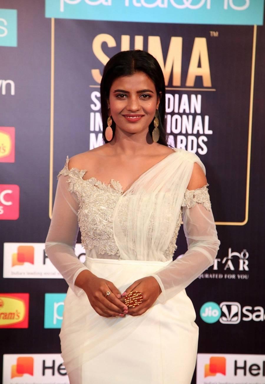 South Indian Actress Aishwarya Rajesh at SIIMA Awards 2019