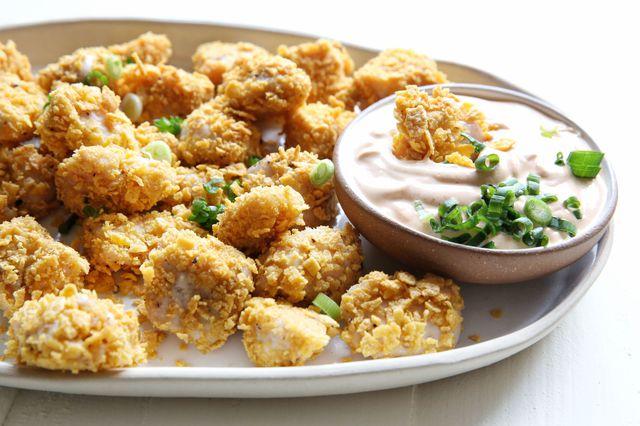 Resepi - Ayam Goreng Popcorn Yang Superb Mudah Sedap
