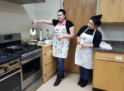 La Luz Centro Cultural Cooking Class, Hampton, Iowa