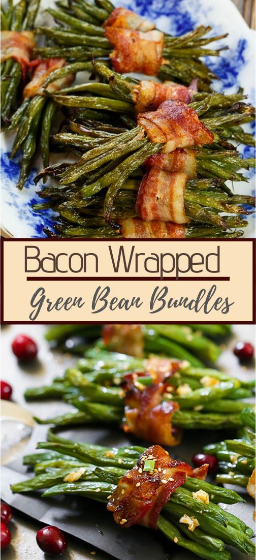 Bacon Wrapped Green Bean Bundles #food #lunchrecipe #vegan #vegetarianrecipe #easyrecipe