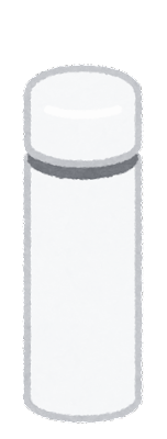小さい水筒のイラスト2