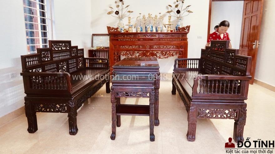 TK31: Trường kỷ song tiện ngũ sơn Huế - Ảnh: Dotinh.com