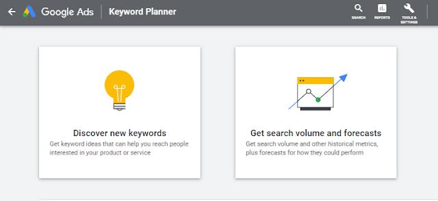PPC Agency Google Keyword Planner Dashboard