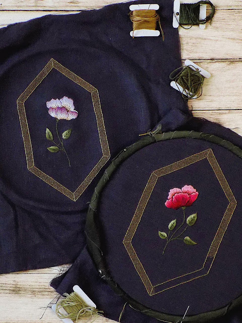Jewels Stitch Floral