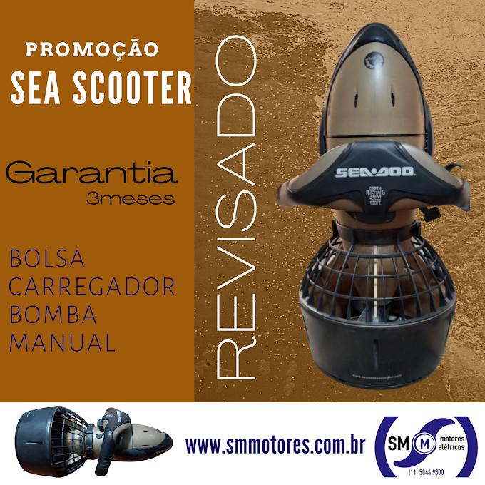 Promoção Seascooter Super Charged