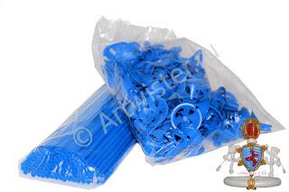 Палочки и розетки для воздушных шаров с логотипом