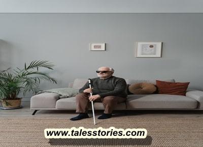 قصة الأعمى و الأعمش