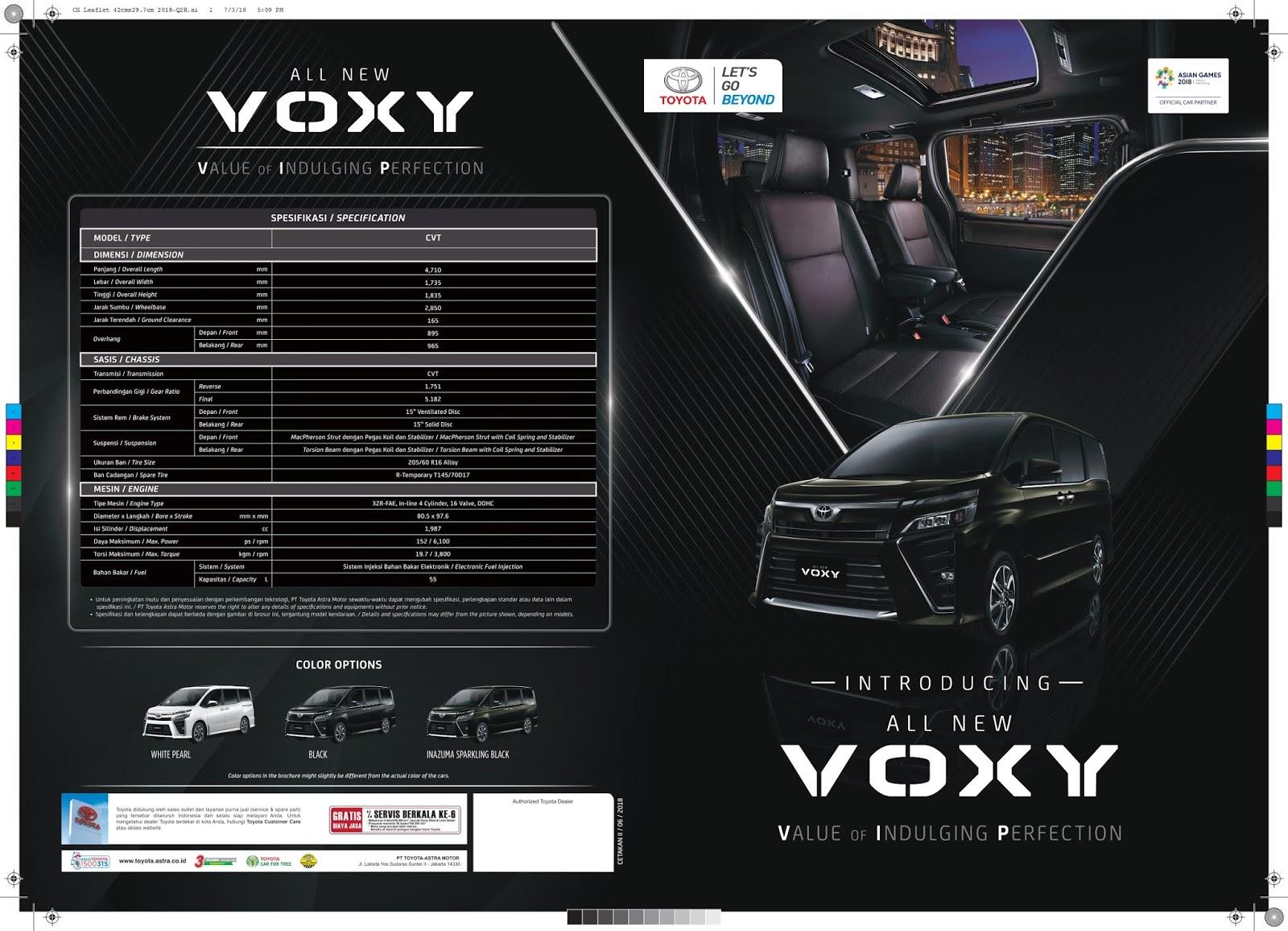 Harga Promo Toyota Voxy Medan
