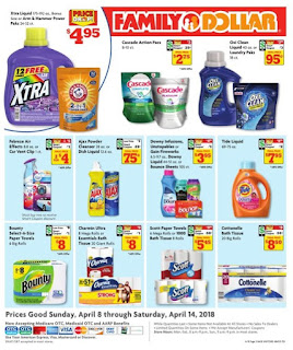 Family Dollar Weekly Ad April 4/8/2018 - 4/14/2018