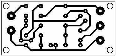 Printed Circuit Atmospheric Disturbance Detector