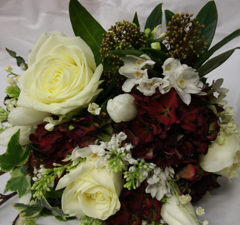 Wedding Flowers Lancashire: The Flower Magician: Late Winter Early Spring Wedding