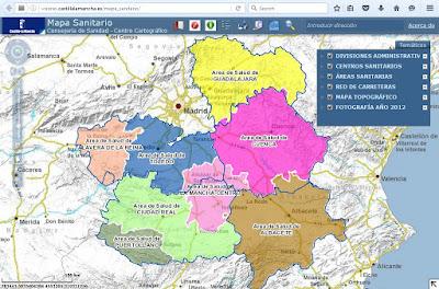 http://visores.castillalamancha.es/mapa_sanitario/