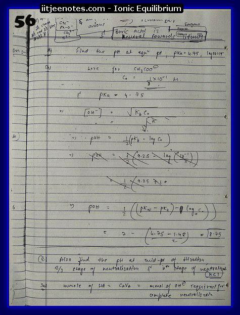 ionic equilibrium chemistry8