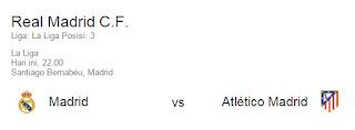 Pertandingan Real Madrid Malam Ini