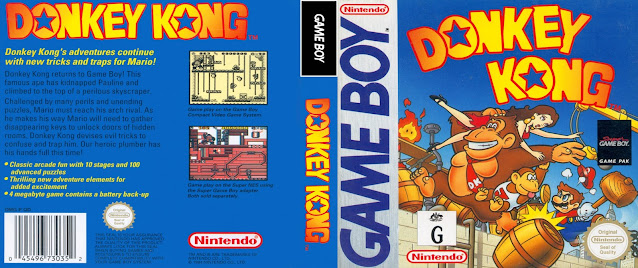 game boy donkey kong cover