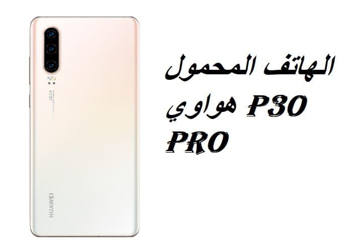 الهاتف المحمول هواوي P30 Pro